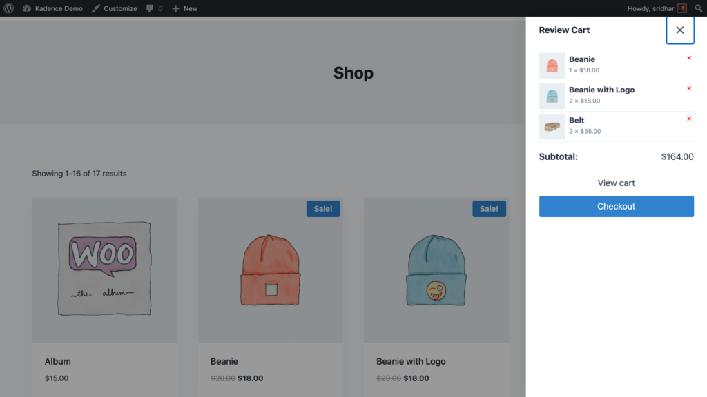 Add to cart behaviour - Show the cart popout on add to cart